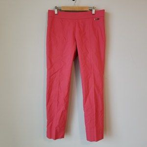 Tory Burch Callie Skinny Ankle Pants Pink Trouser